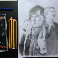 Sherlock by cucksillustration