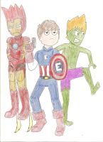 The Eddvengers by samyo123