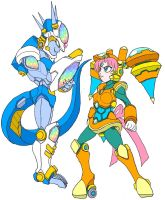 Top Moon and Flash Frieza by Tyrranux