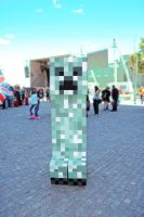 Minecraft cosplay - Creeper by N3kosann