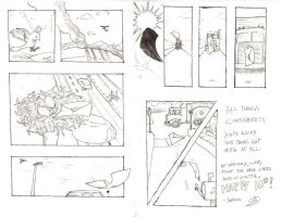 Late BDay Card: Pages 2-3 by Xavier-Isaacs