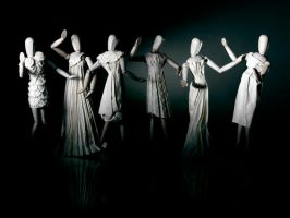Paper Sculpture Fashion by hazelB