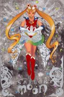 Sailor Moon Papercut by taintedsilence