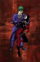 Joker Harley Print Colors by ChrisMcJunkin