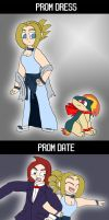 Pokeprom - Kay and Cindy by supernanny191