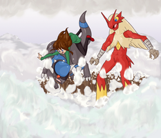 Challenging the Blizzard by animatedshoes