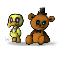 Freddy and Chica by catmak800