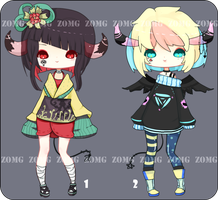 Open | Demon Adopts by zomgO3O