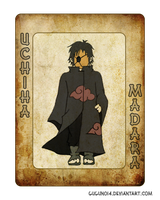 Uchiha Madara's Card by gugun014