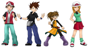 The Kids from Kanto by girlwonder004