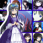 Collage de Akemi Homura by Flxrence
