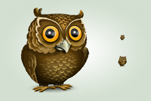 Owl icon by hbielen