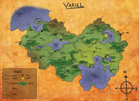 CC: Map of Variel by forte-girl7