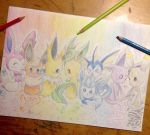 Eeveelutions thing by StarBoy22