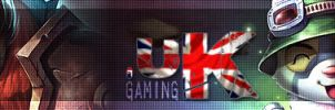 .uKgaming Twitch Banner by Myssham