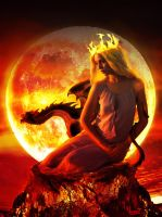 Mother of Fire by ImVicent