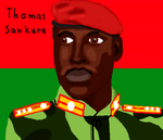 Thomas Sankara by DragonQuestWes