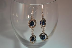 Double 'Stargate' Earrings by lunnybunny1