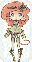 [ CLOSED / auction ] Peach Mouse Loli by apollydopts