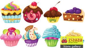 Cupcake icons png by DarkStaLkeRR