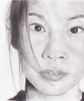 Lucy Liu by Pencilblade