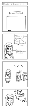 4Koma Chapter 2 - Student Council! by BernkastelKues