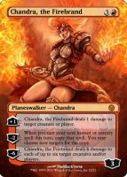 Chandra the Firebrand by KingVego