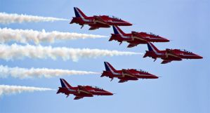 Red Arrows by eyedesign