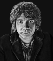 Bilbo Baggins - Martin Freeman by beth193