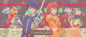 RomeoXJuliet Sign by RanmaGirlSaotome