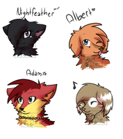 headshot batch by WolfieTan