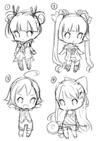 Wip Adopts by KokoTensho