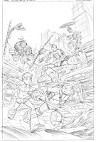 TMNT book #1 cover pencils (SOLD) by DarioBrizuelaArtwork
