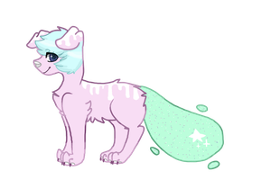 [CLOSED] Glitter Dog adopt [AUCTION] by RinaTheKitty