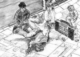 Ballpoint 02:Breakdancer by JesusDeSaad