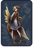 [CLOSED] Bird Lady AUCTION. by Parheliasmurmur