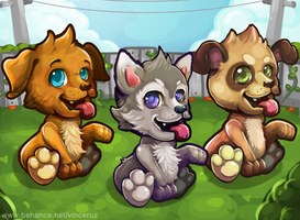 Puppy Dress Up Game by vinciruz