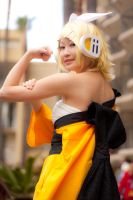 Strongarm Rin by BertLePhoto