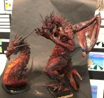 Two Red Dragons by FritoFrito