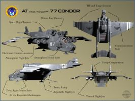 AT-77 Condor by dragone66