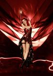 Burlesque Latex Dress by AmatorisLatexCouture