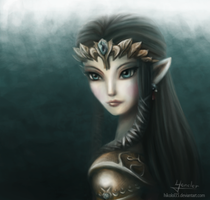 Princess of Hyrule by Hikolol35
