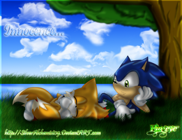 Innocence-Sonic and Tails.2011 by SilverAlchemist09