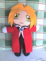 very new edward elric plush by VioletLunchell