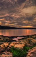 The Oslofjord at sunset by CLithen