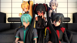 Fan made Vocaloids by JuliaDS