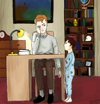 Mycroft, where is Mummy? by Angels111