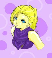 Colouring Practice - Ino by D00Mk1tty14