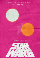 Star Wars (1977) - Minimalist Poster by Stormy94