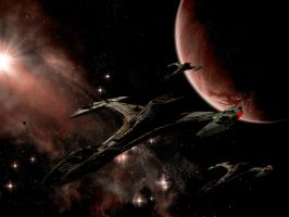 Klingon Space by cRAwler23